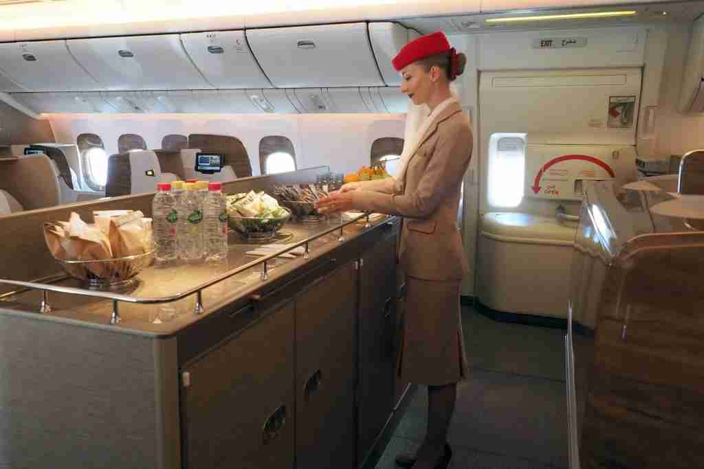 """Emirates plans to operate its """"latest products"""" on the A350-900, though hopefully we"""