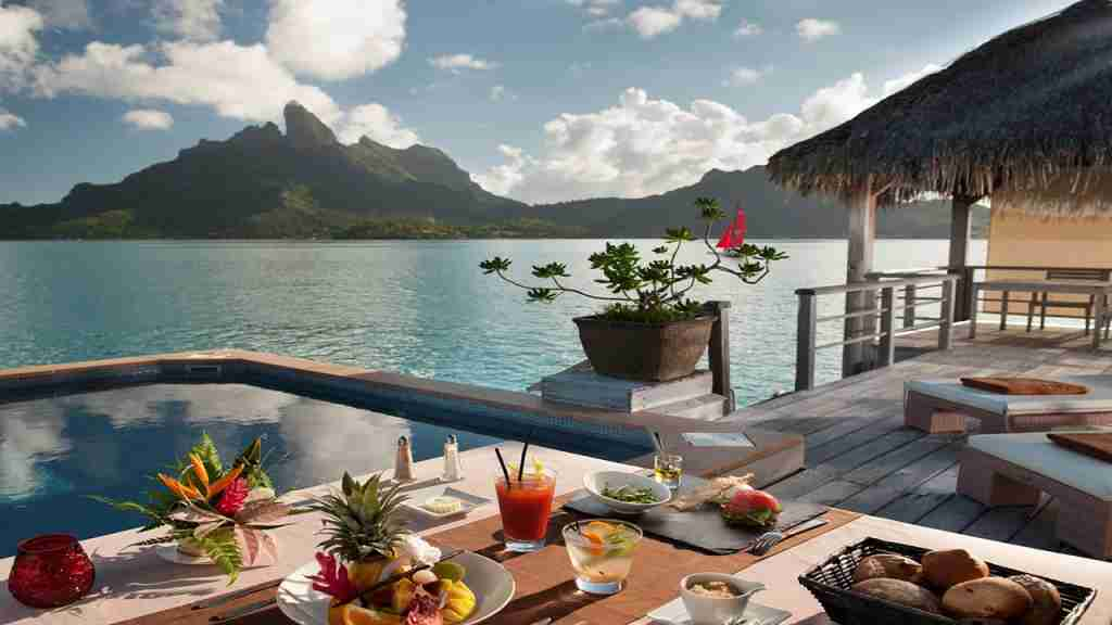 Image courtesy of the St. Regis Bora Bora
