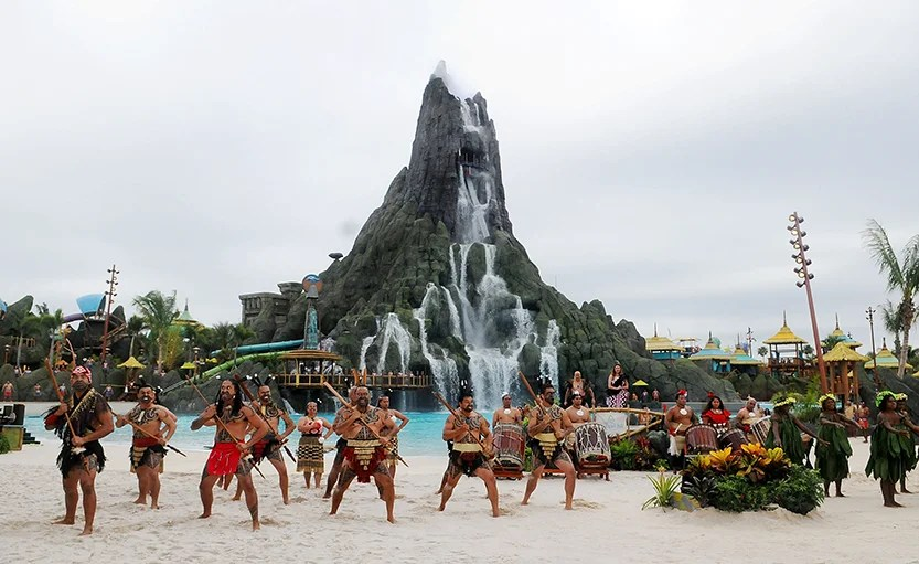 Volcano Bay Water Theme Park at Universal Orlando Resort . (Photo by Gerardo Mora/Getty Images)