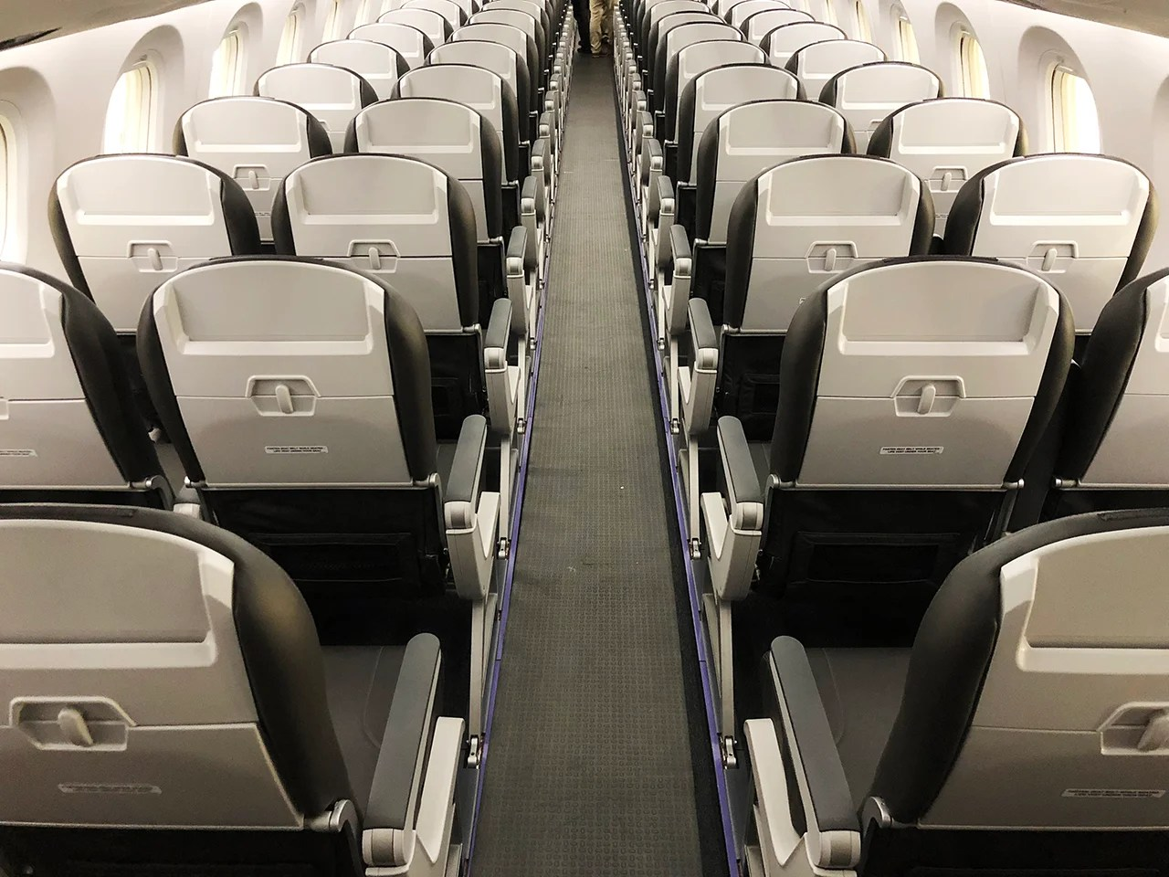 So The Carrier Decided To Optimize Space Inside Aircraft With 114 Seats Presumably Given Short Duration Of Many Flights Its A Tight Fit