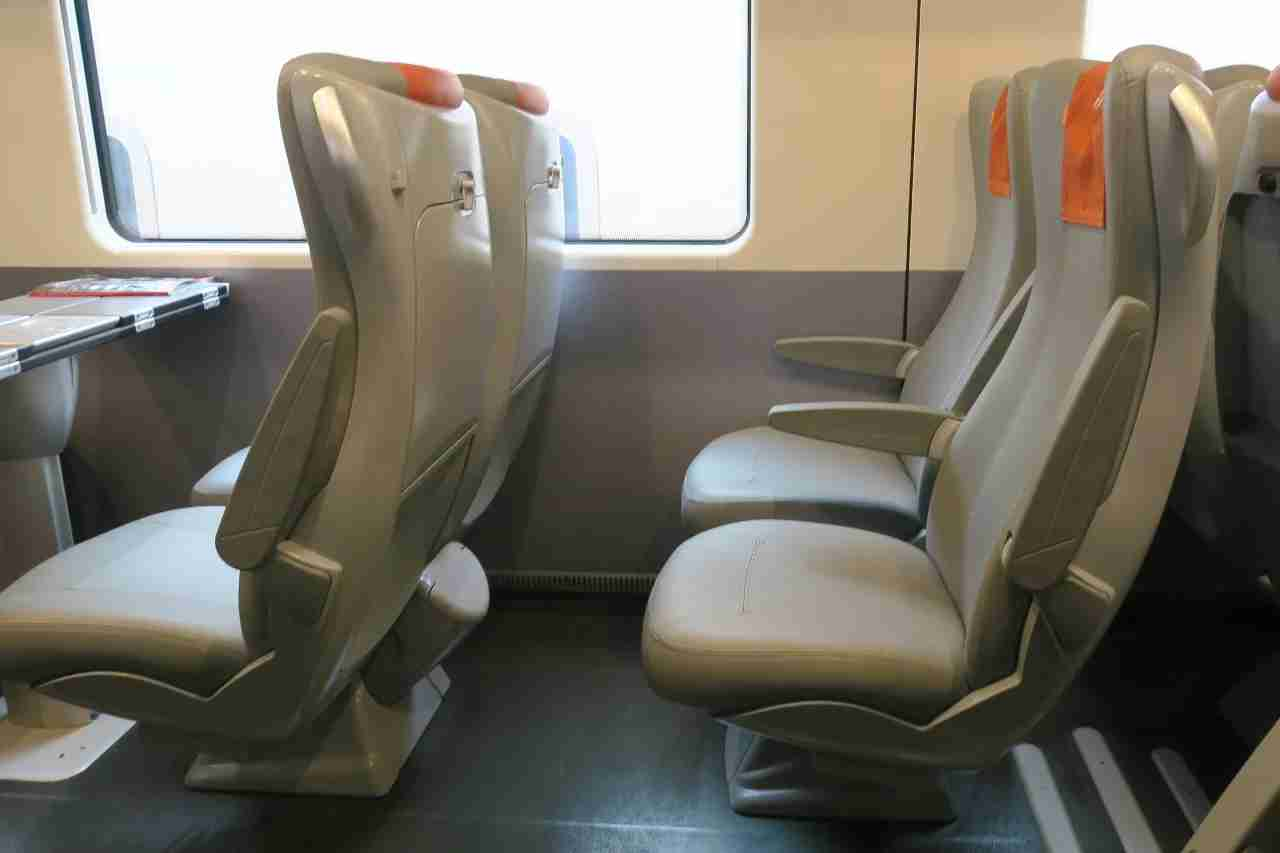 Even the worst seat on Trenitalia