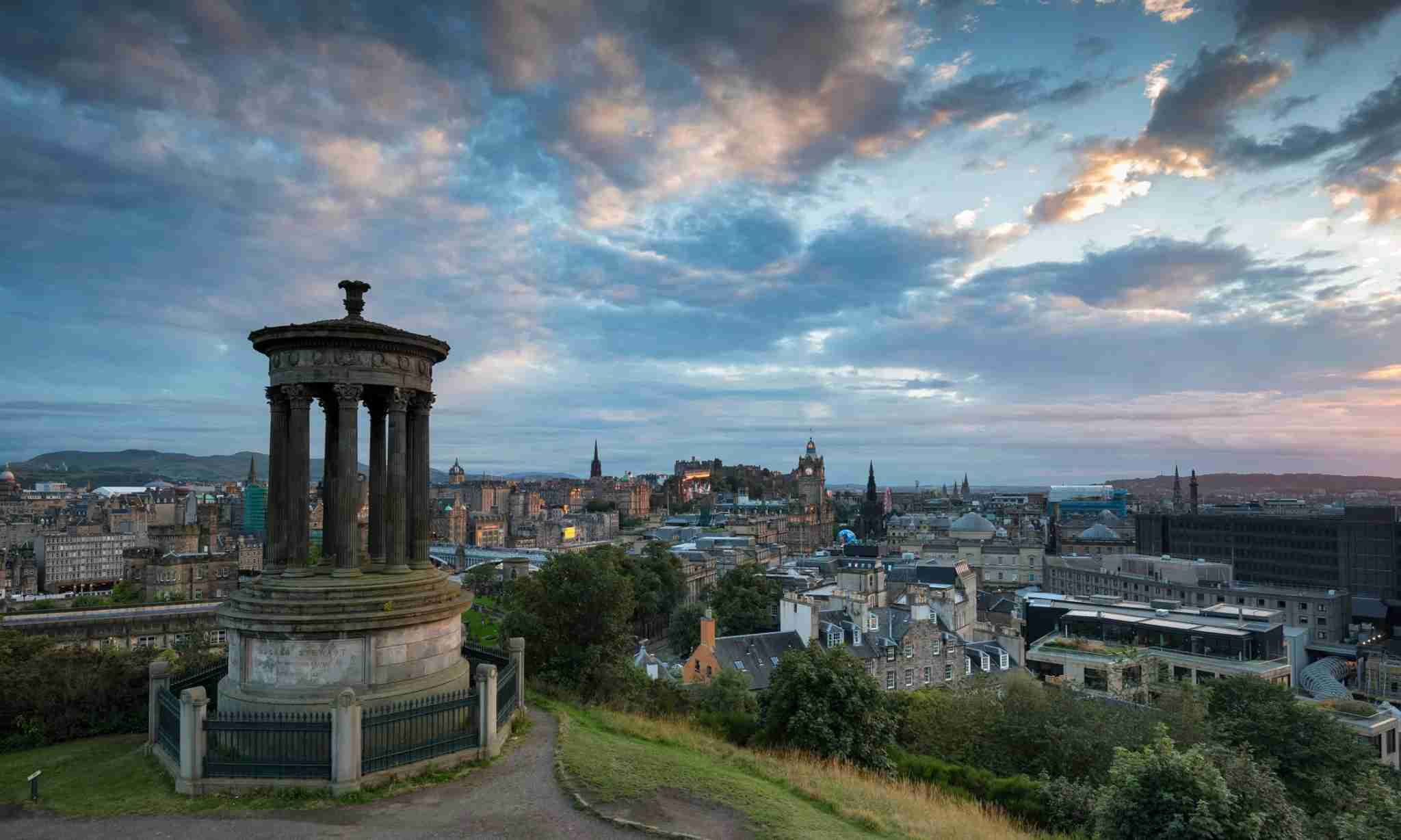 Fly from Philadelphia to Edinburgh, Scotland, thanks to new seasonal service from American Airlines. (Photo by Markus Keller / Getty Images)