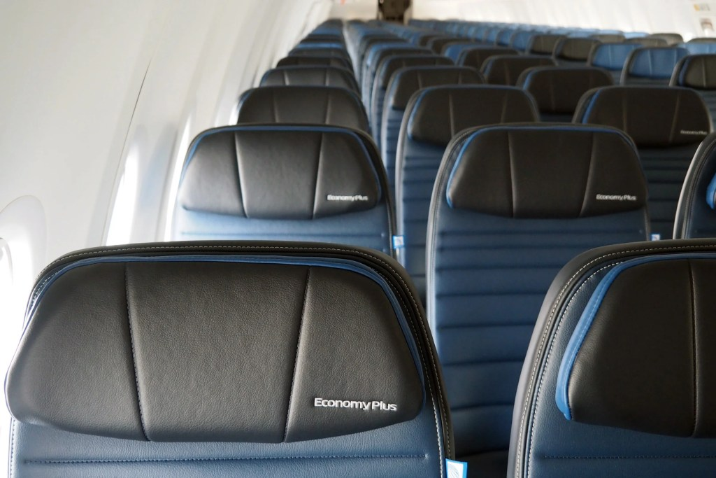 Exclusive Look Inside United's Very First Boeing 737 MAX
