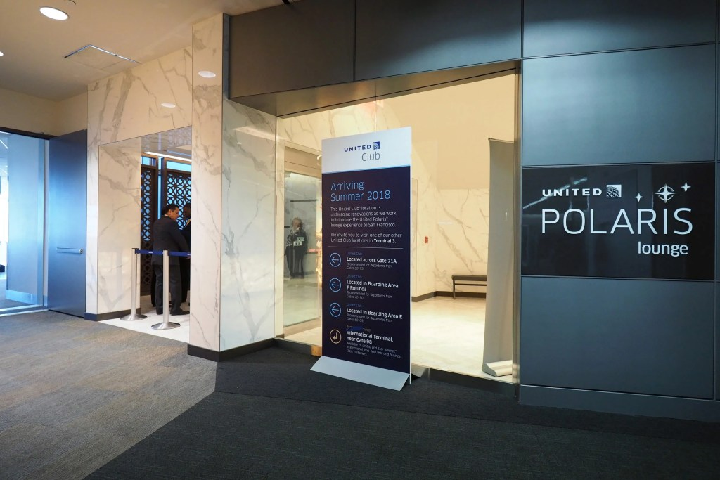 First Look Inside United S San Francisco Polaris Lounge Sfo