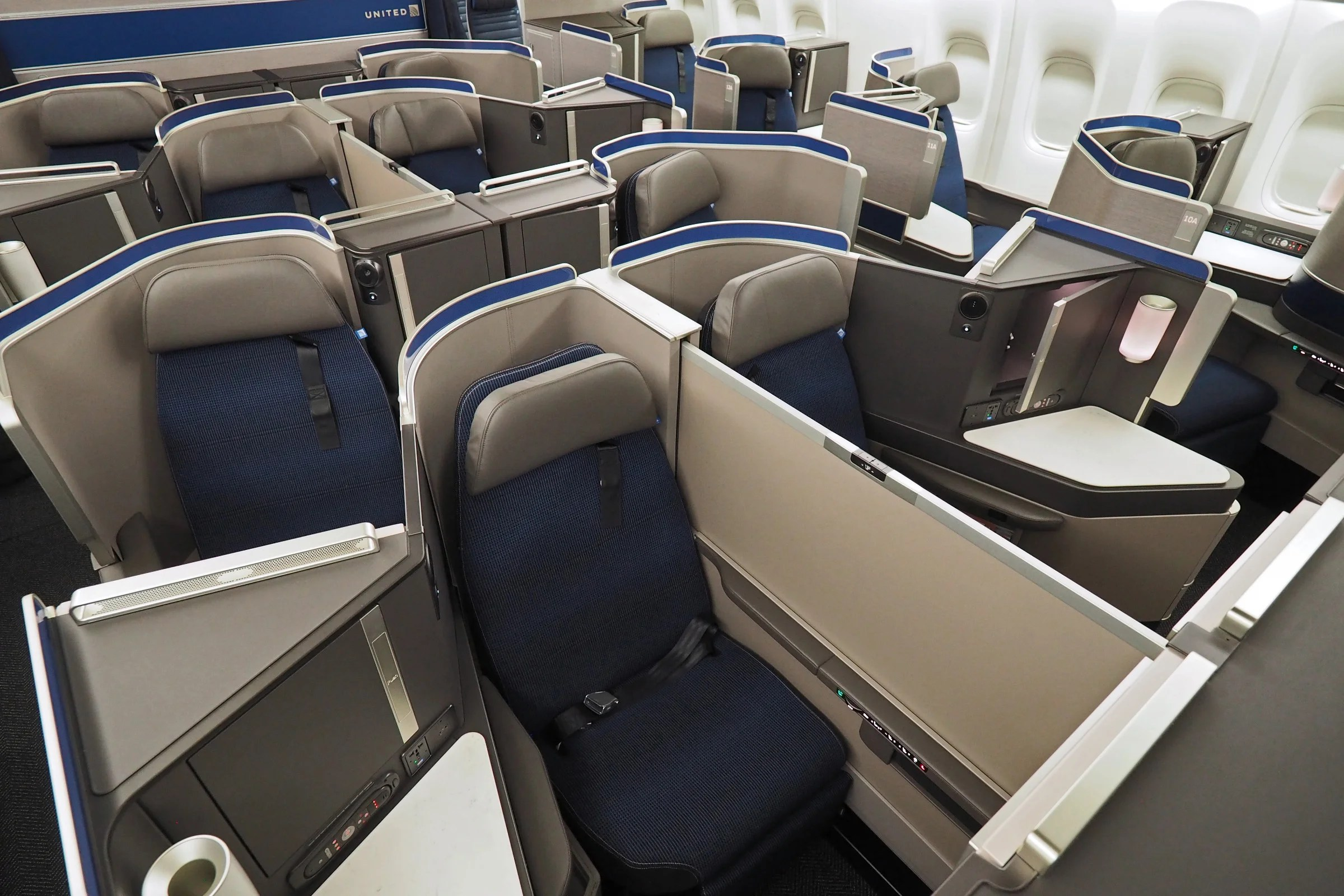 Where To Sit When Flying United S New 777 200 Polaris