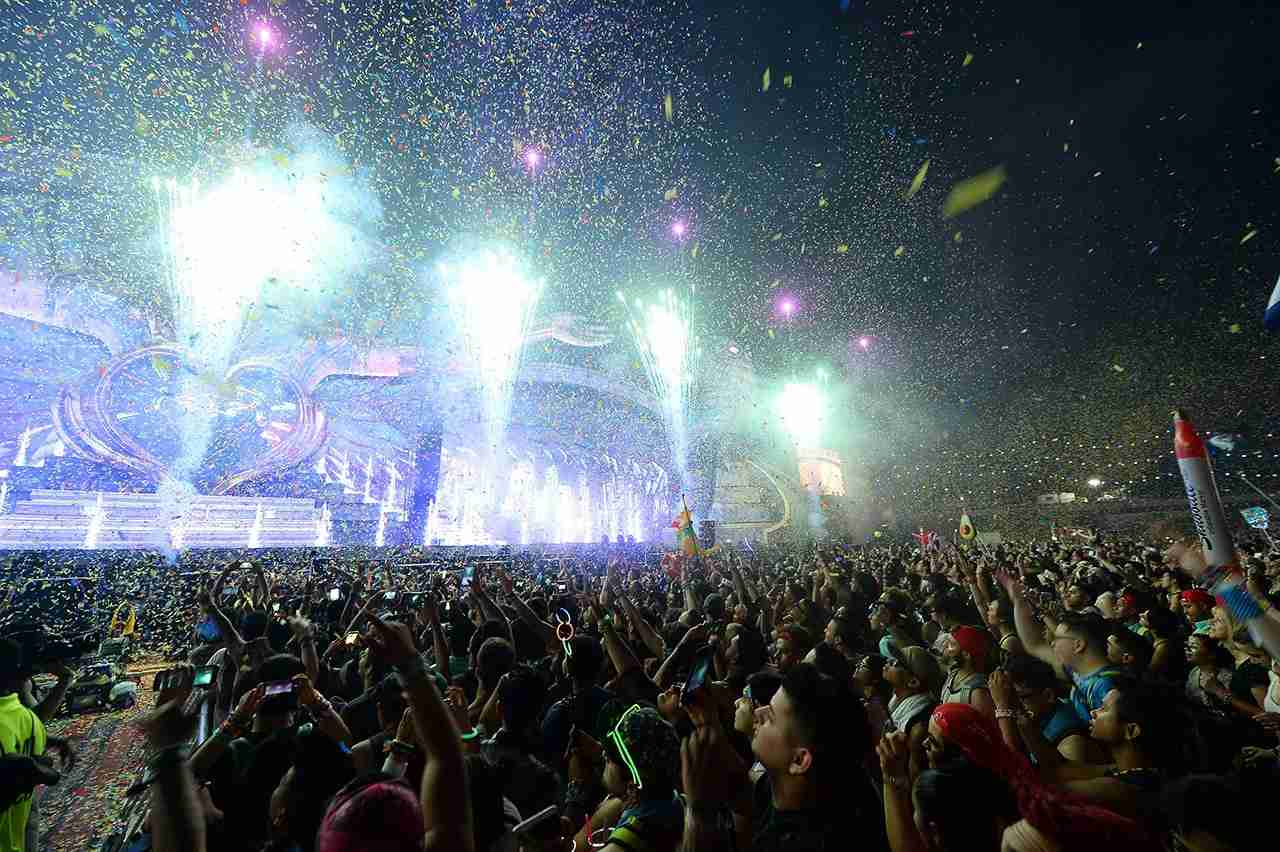 LAS VEGAS, NV - JUNE 18: A general view shows the 21st annual Electric Daisy Carnival at Las Vegas Motor Speedway on June 18, 2017 in Las Vegas, Nevada. (Photo by Steven Lawton/Getty Images)