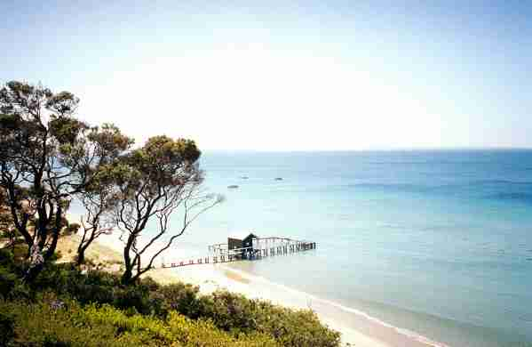The relaxing Port Phillip Bay. (Photo by Tobias Titz/Getty Images)