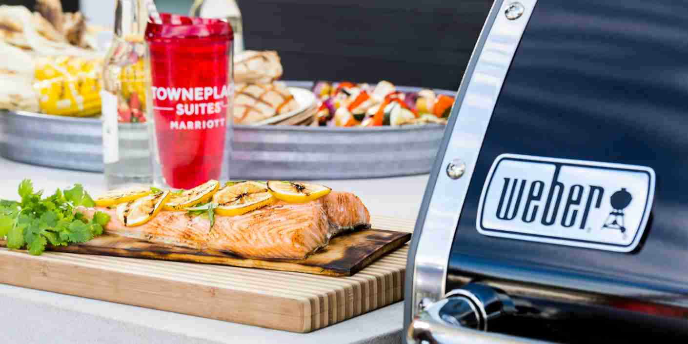Get grilling at TownPlace Suites by Marriott. Image courtesy of Marriott International Inc.