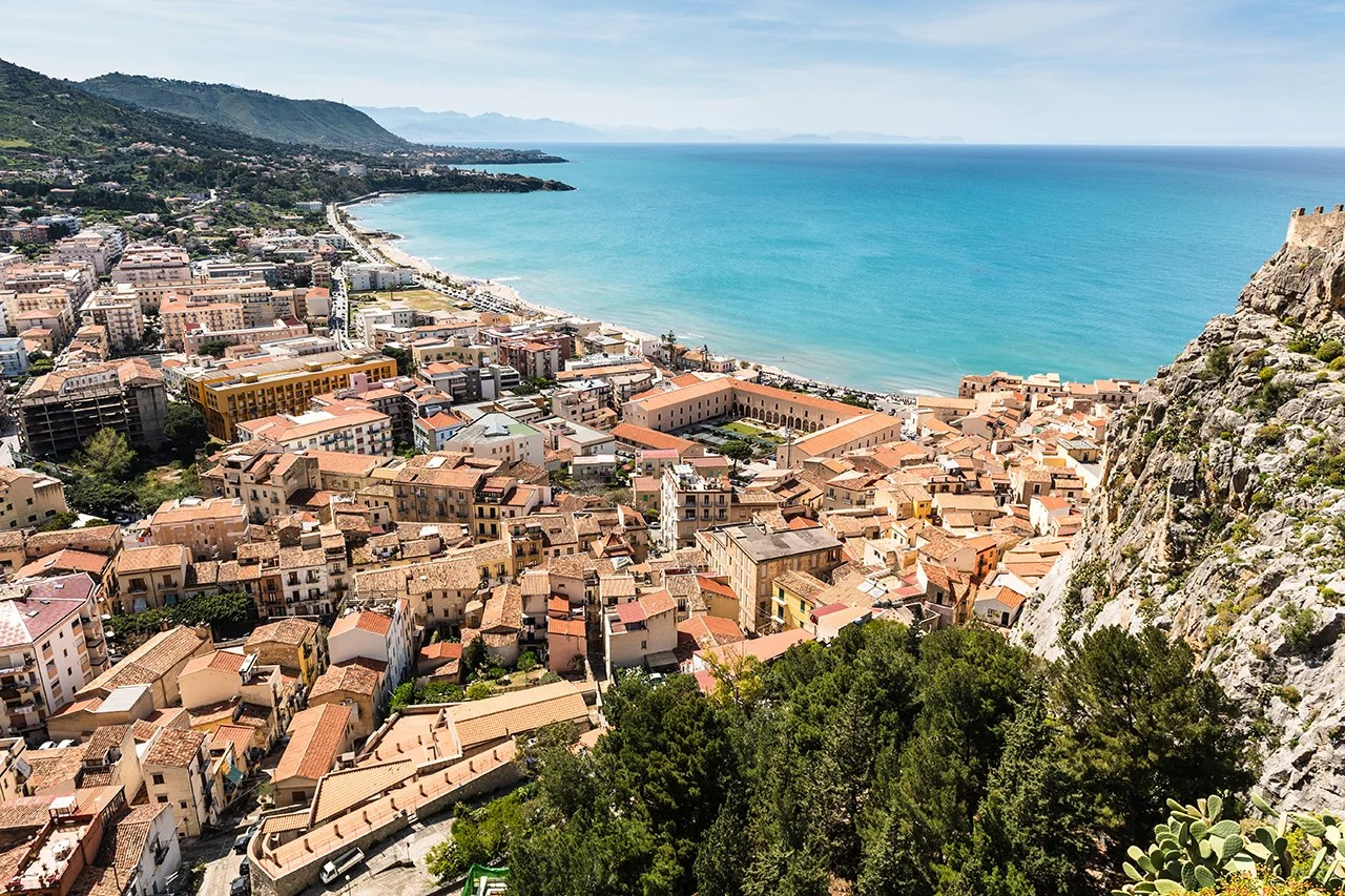 The medieval town of Cefalù, Italy. (Photo by Jakub Dylag.)