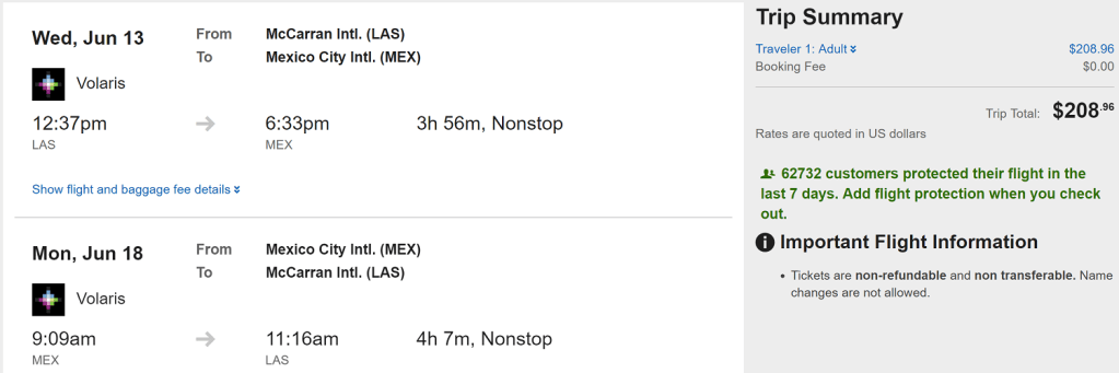 Flights to Cancun, Mexico City $185+ Round-Trip