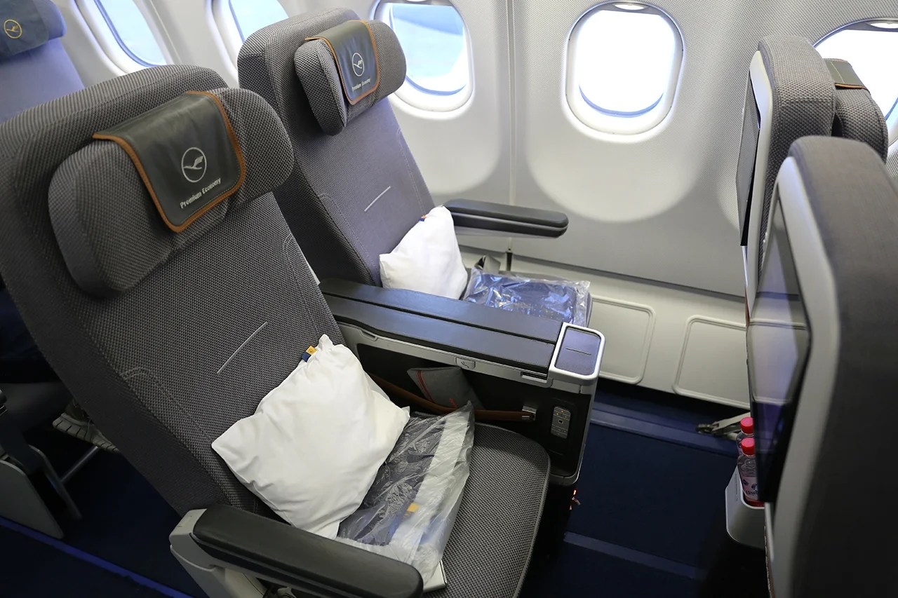 Great Seat, Low Fare: Lufthansa Premium Economy on the A330