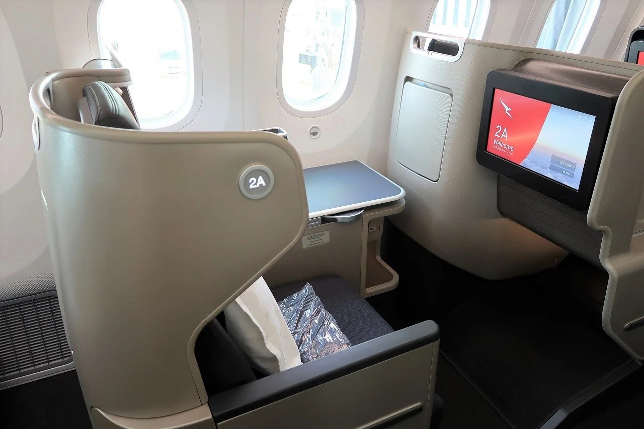 Review Qantas 787 9 Business Class From Melbourne To Perth