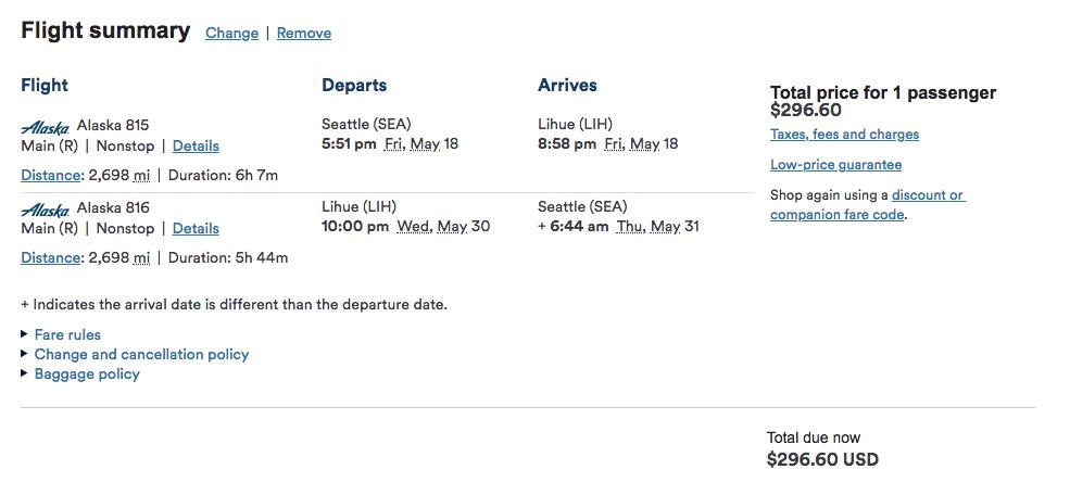 Deal Alert Flights To Hawaii Under 300 Round Trip