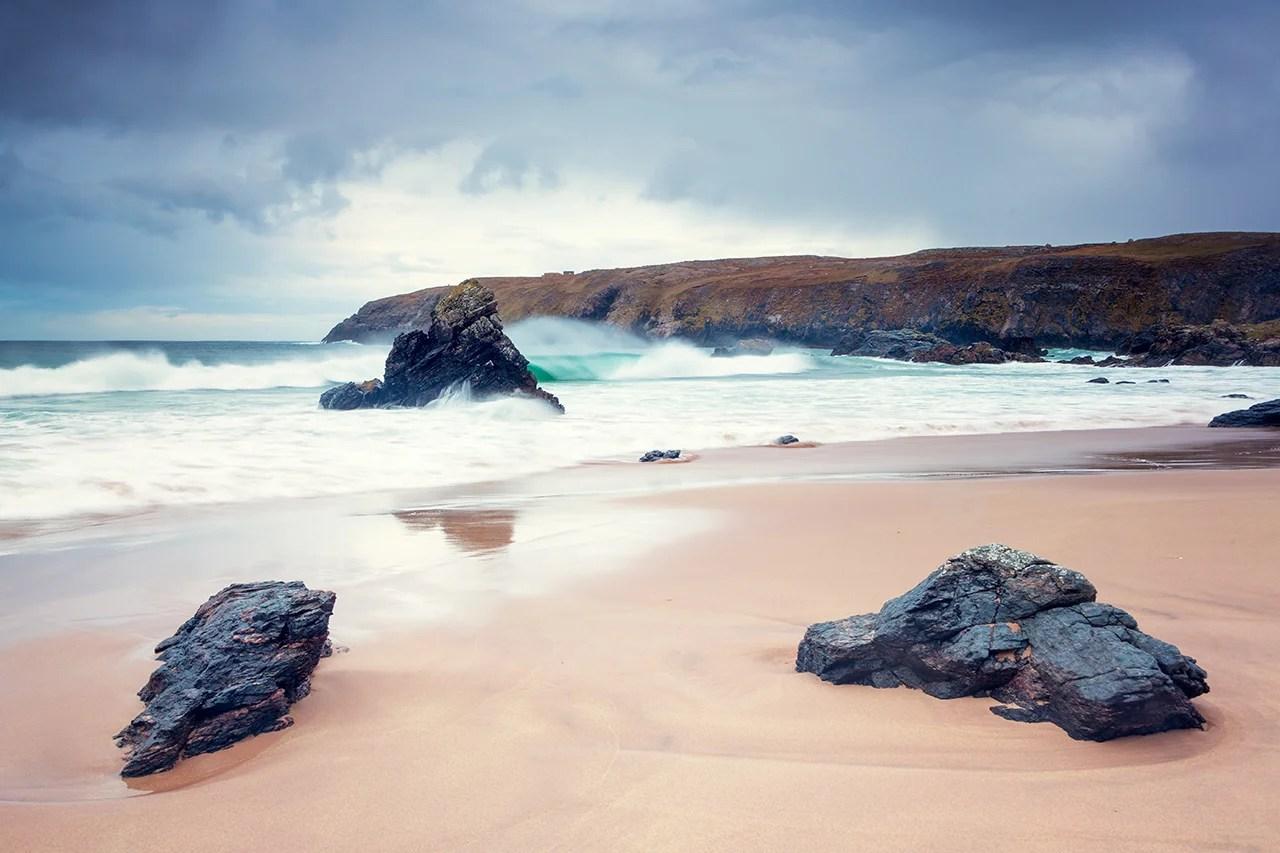 Durness Beach, Sango Bay, Scotland. (Photo by spreephoto.de / Getty Images)