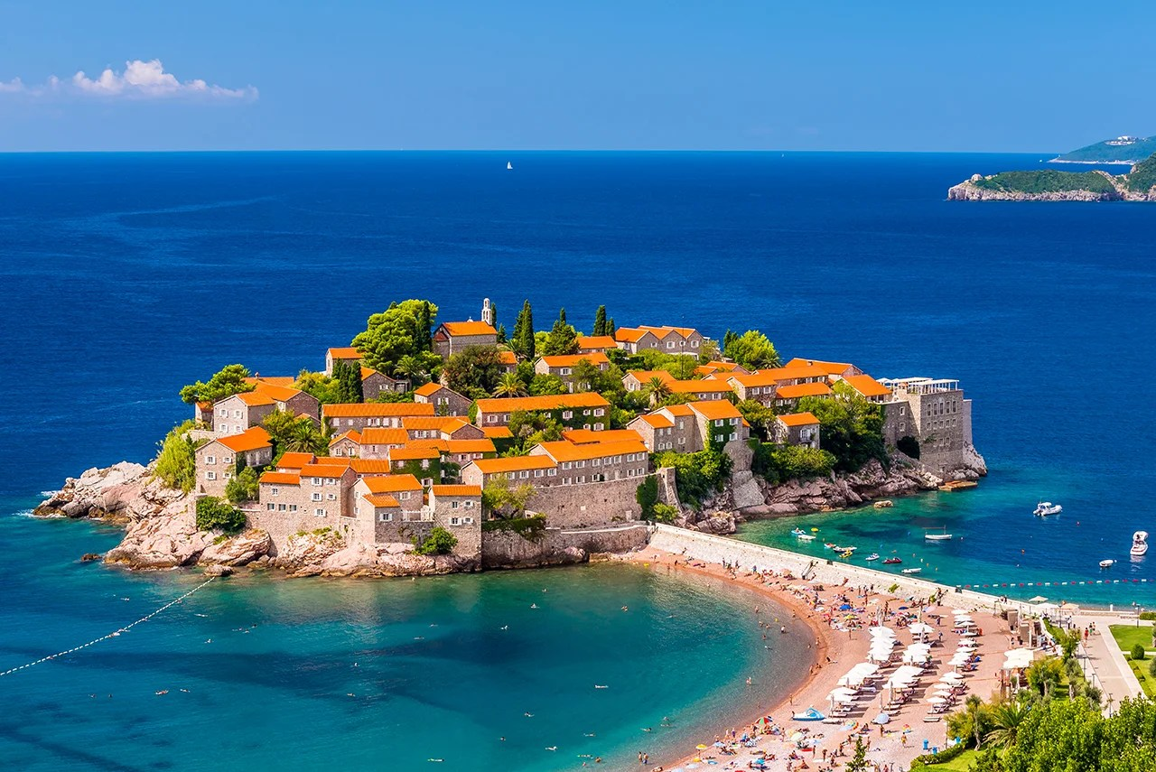 Sveti Stefan (Photo by Marius Roman / Getty Images)