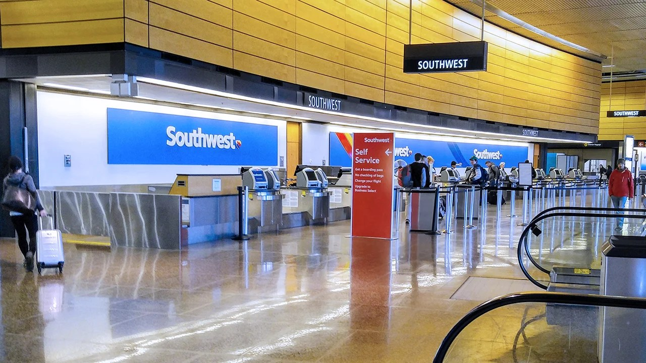 Southwest Airlines Checkin