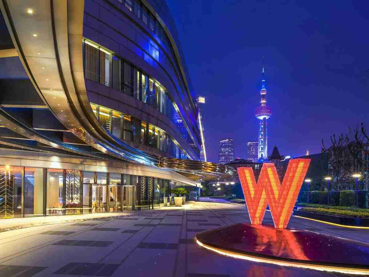 Photo courtesy of W Shanghai