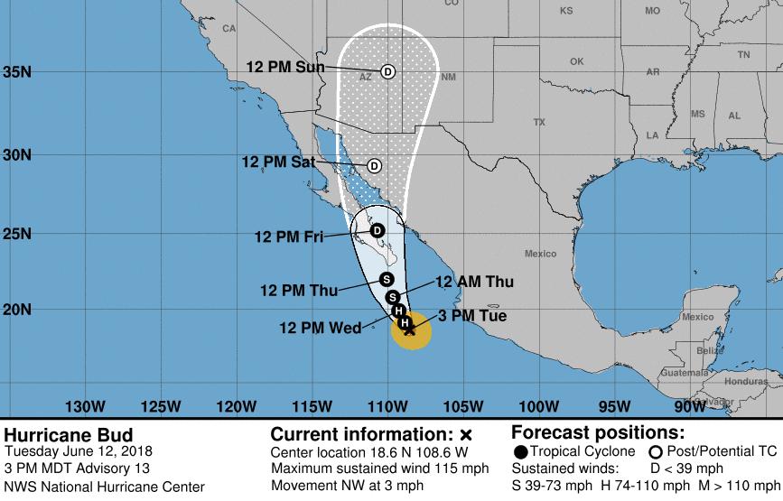 Image courtesy of the National Hurricane Center.