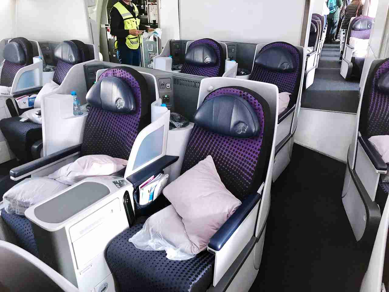 AeroMexico 787-8 Business Class (Photo by Nick Ellis/TPG)