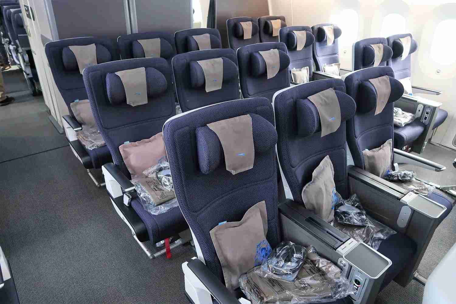 British Airways Premium Economy on the Boeing 787-9. Image by JT Genter / The Points Guy.