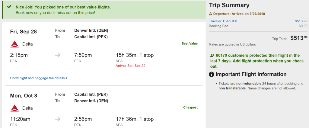 Deal Alert China From 484 Round Trip On Us Based Airlines