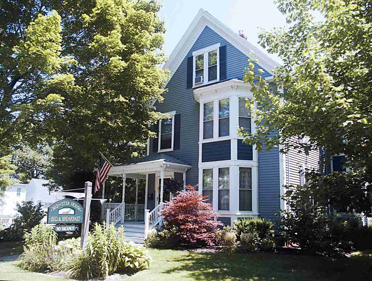 Brewster House Bed & Breakfast, Freeport, Maine. (Photo courtesy of Brewster House Bed & Breakfast)