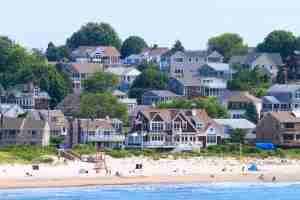 Usa, Rhode Island. Narragansett, Rhode Island. (Photo by Philippe TURPIN via Getty Images)