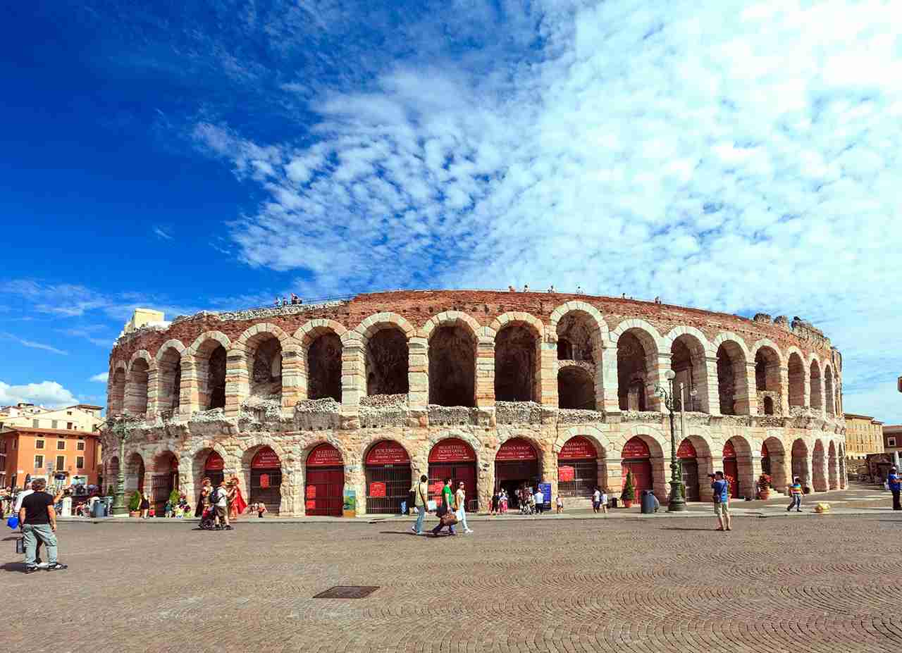 Arena in Verona, Italy. (Photo by druvo/Getty Images)