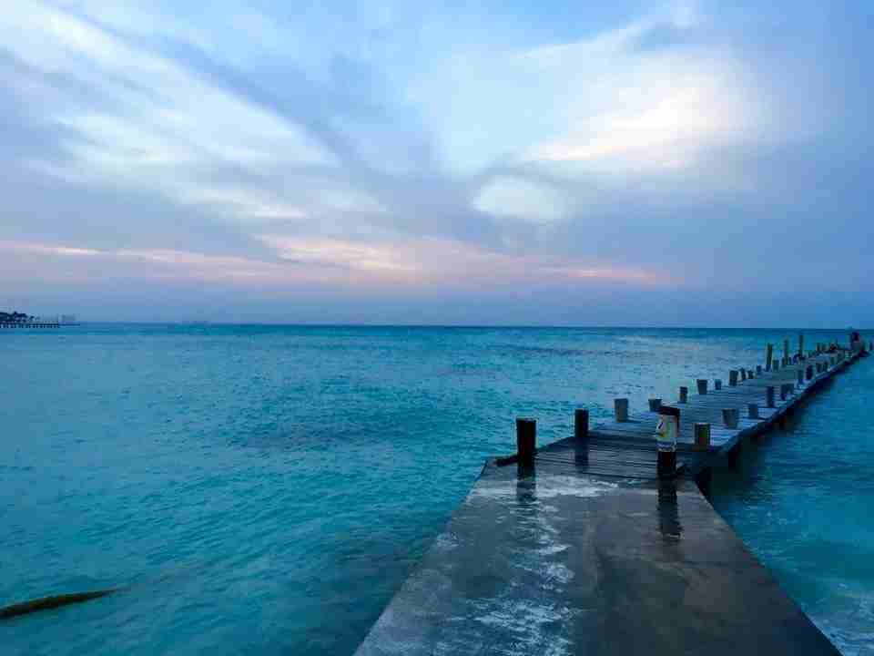 Cancun sunset