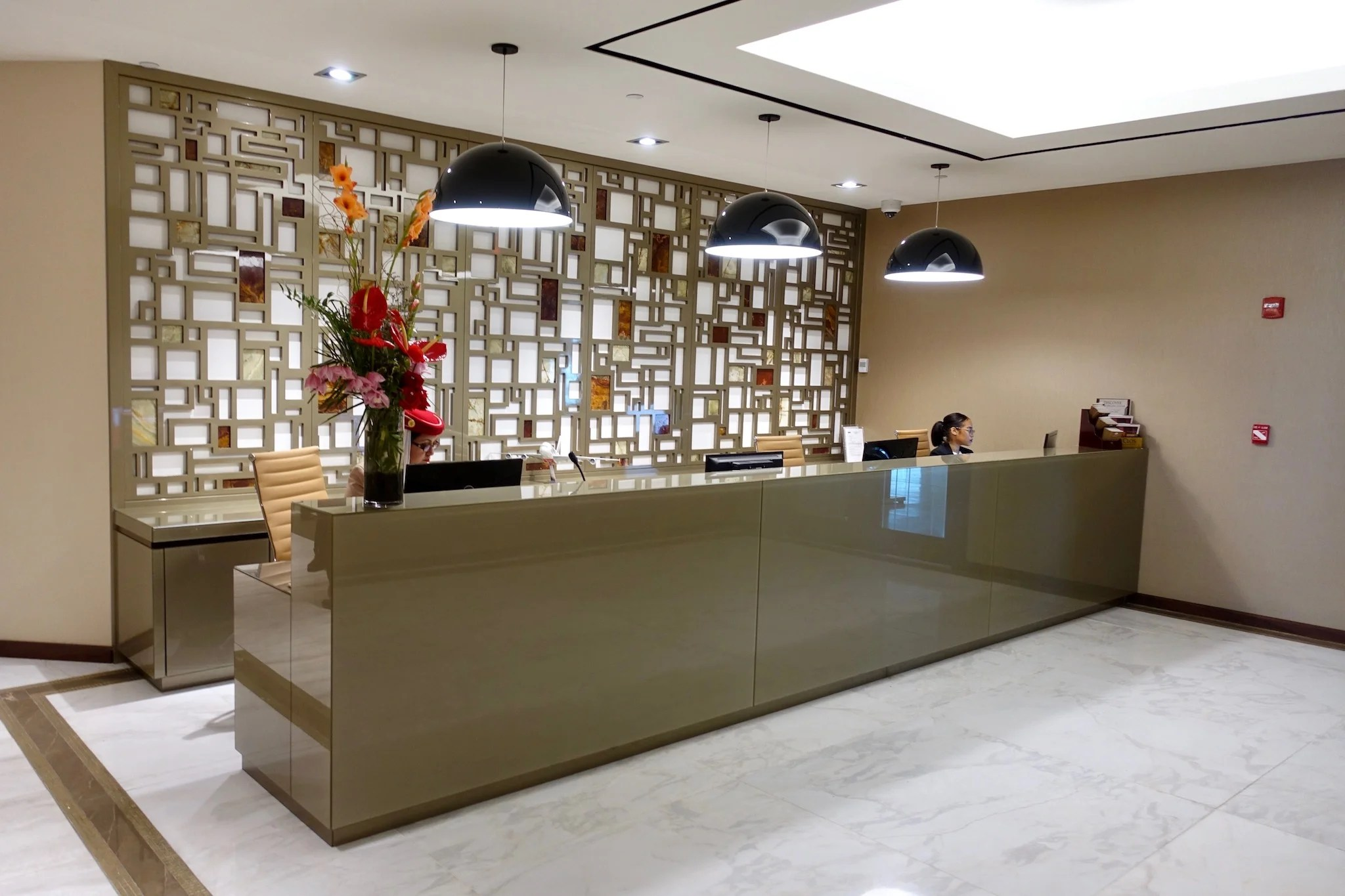 First Look: Emirates' New Lounge at New York-JFK