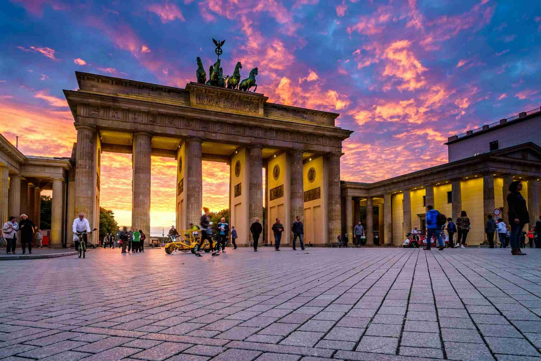 Brandenburg Gate (Photo by I just try to tell my emotions and take you around the world/Getty Images)
