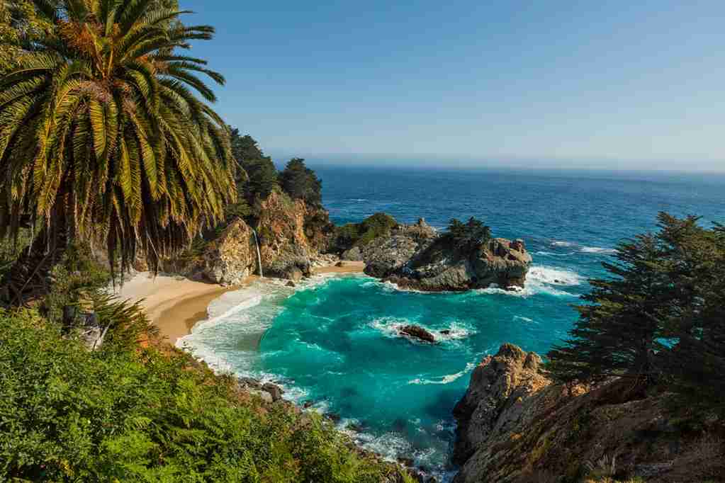 Julia Pfeiffer Burns State Park, Big Sur, California. (Photo by Patrick Leitz / Getty Images)