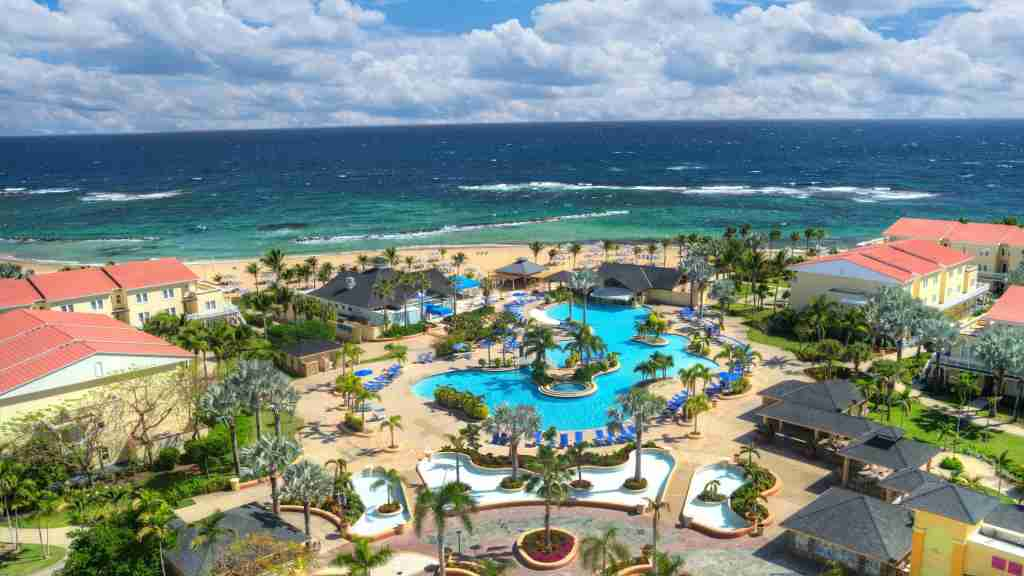 Use your 35k certificate to stay at the Marriott St. Kitts Beach Casino (image courtesy of hotel)