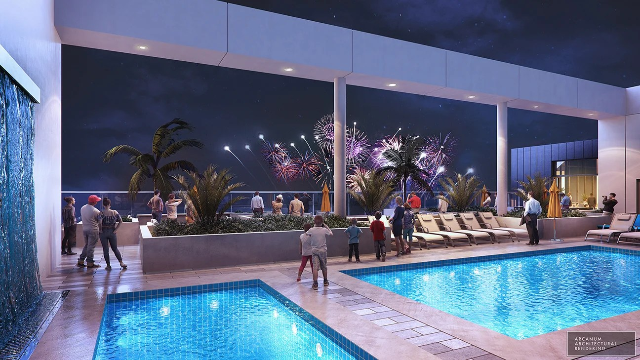 Rendering of the Radisson Blu Anaheim coming in 2020
