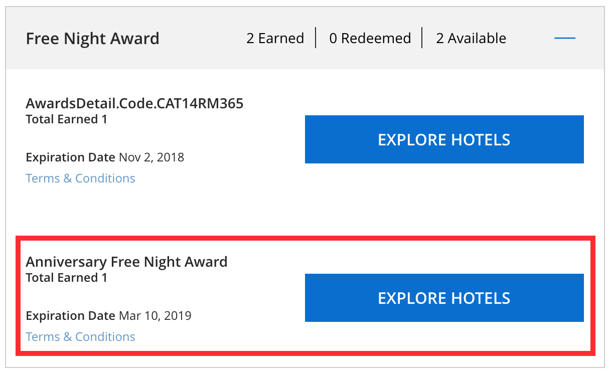 maximizing chase hyatt visa free night certificates