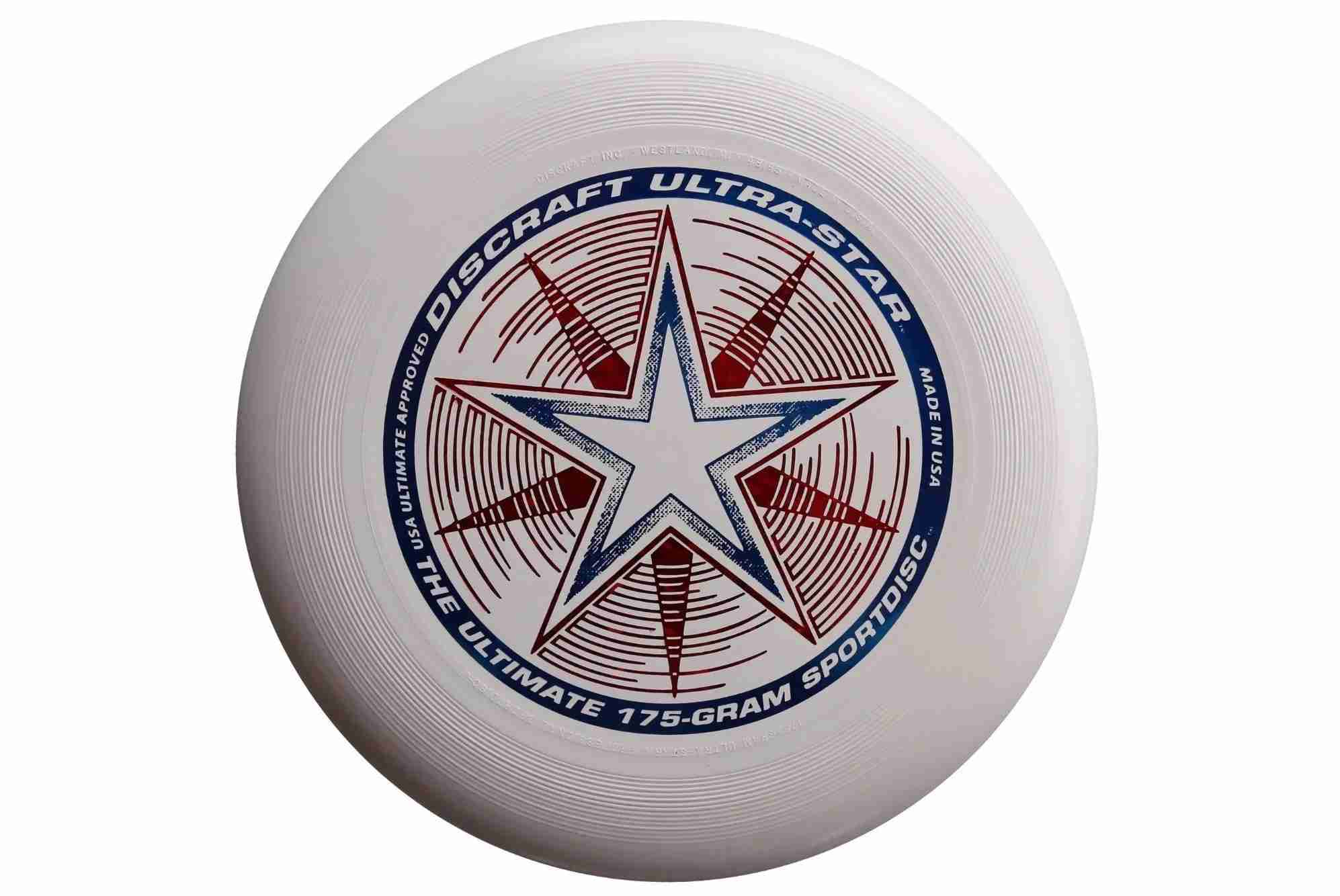 The Discraft Ultra-Star 175g Ultimate Disc. This is the one you want. Image courtesy of Amazon.