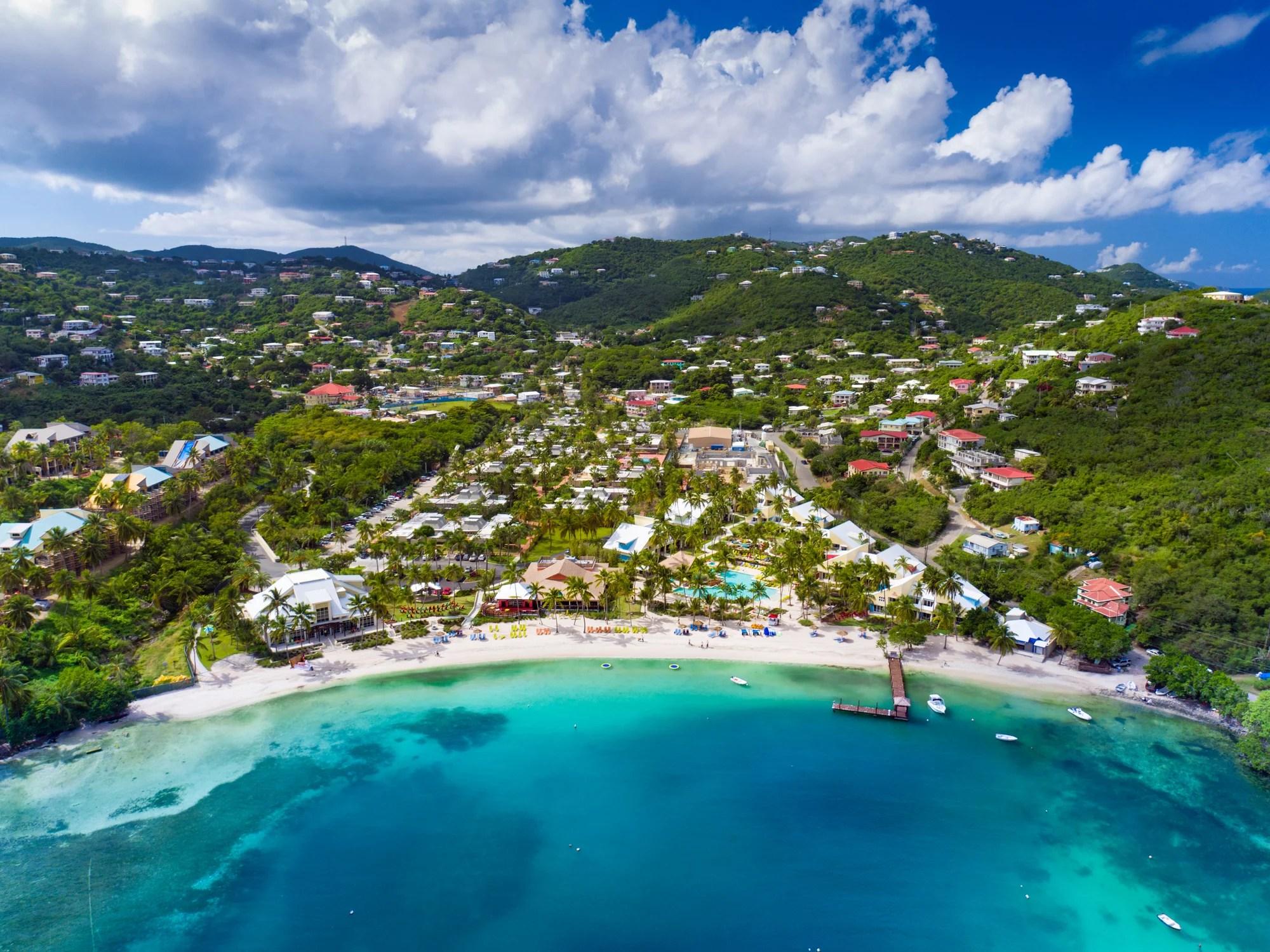 Round Trip To Us Virgin Islands