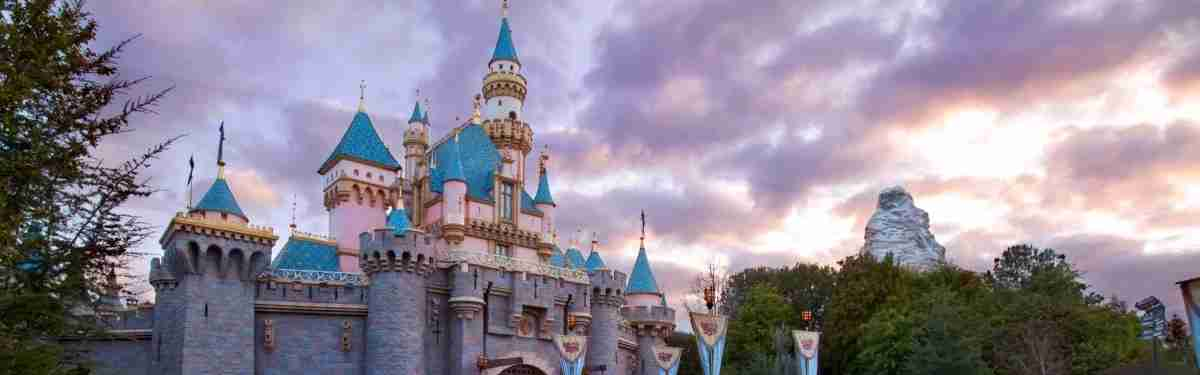 Sleeping Beauty Castle at Disneyland Resort.