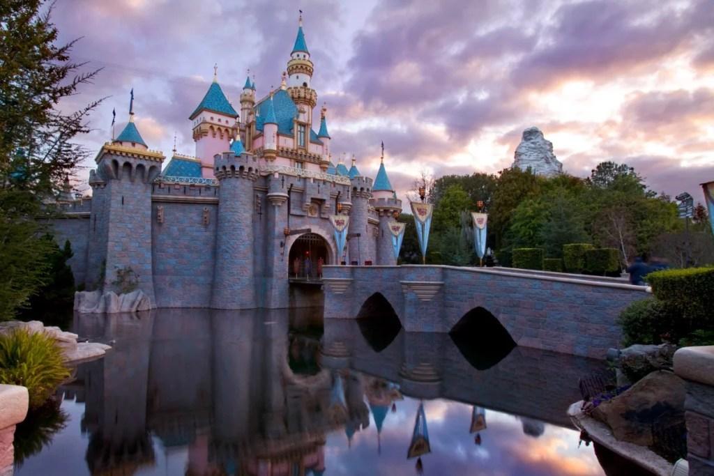 Sleeping Beauty Castle at Disneyland Resort.