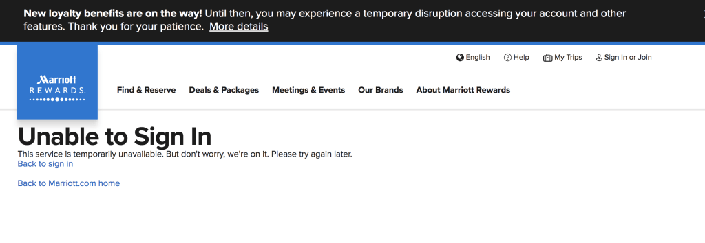 New Award Rates Displaying on Marriott Website (But Not Yet
