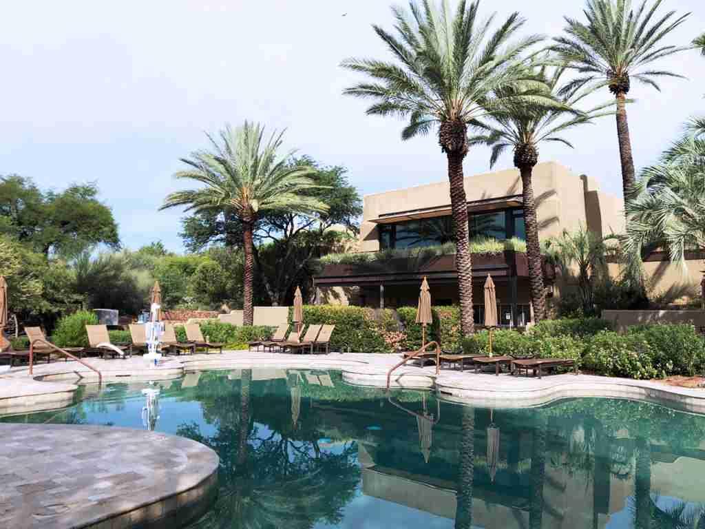 No kids at the Miraval Arizona Resort