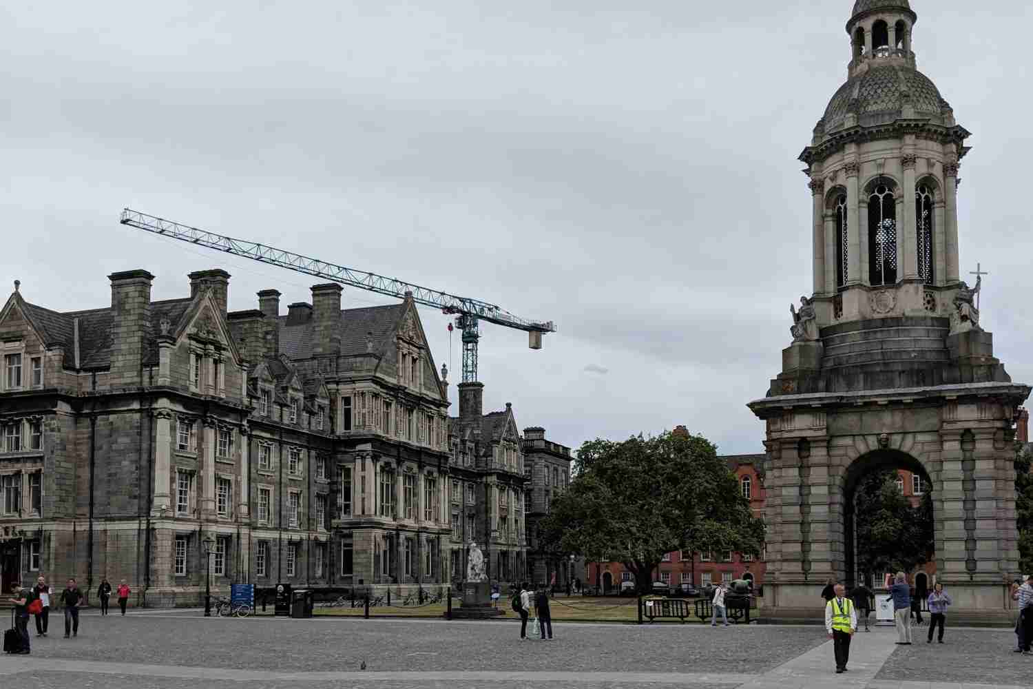 Trinity College is open to guests.