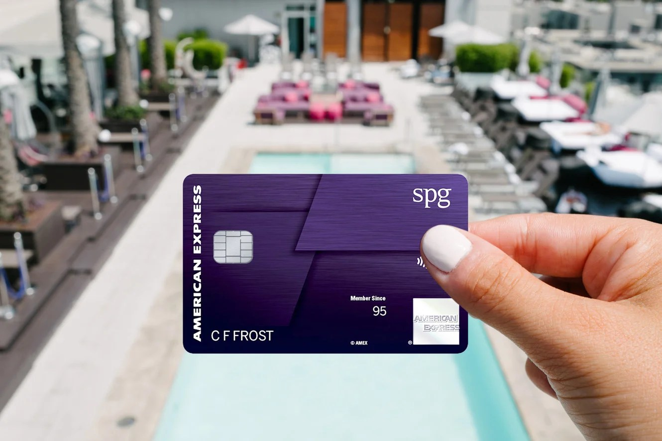The new SPG Luxury Card. Photo courtesy of American Express.