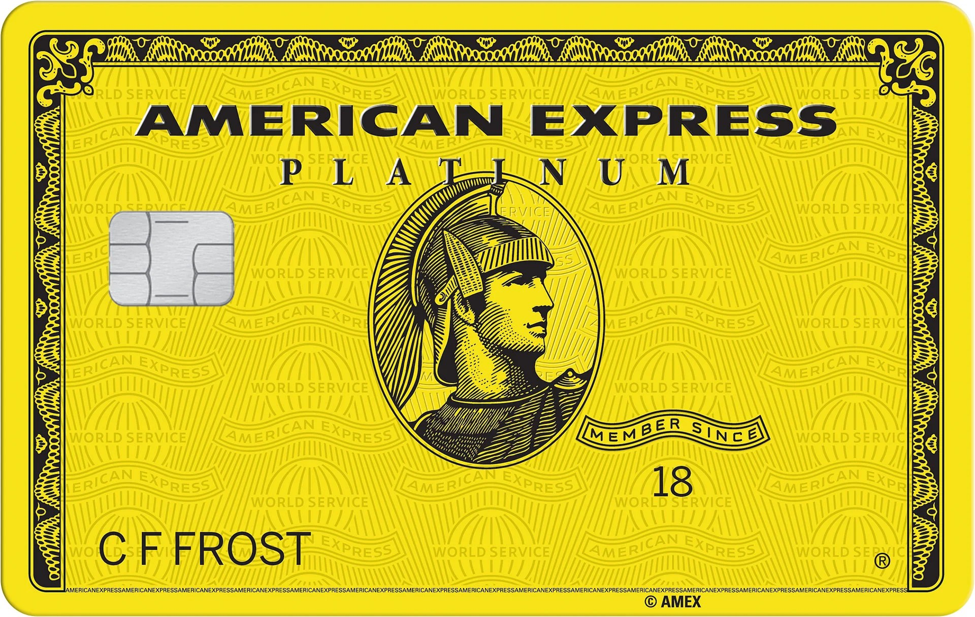 How To Get A Special Yellow Version Of The Amex Platinum Card