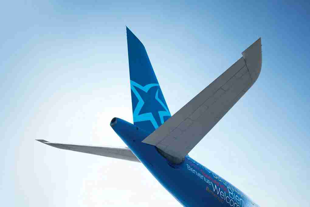 Air Transat Tail (Photo courtesy of Air Transat)