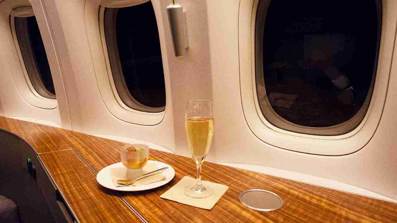 Cathay Pacific First Class (Photo by Samantha Rosen/TPG)