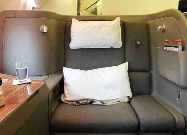 Cathay Pacific First Class Seat 777-300ER