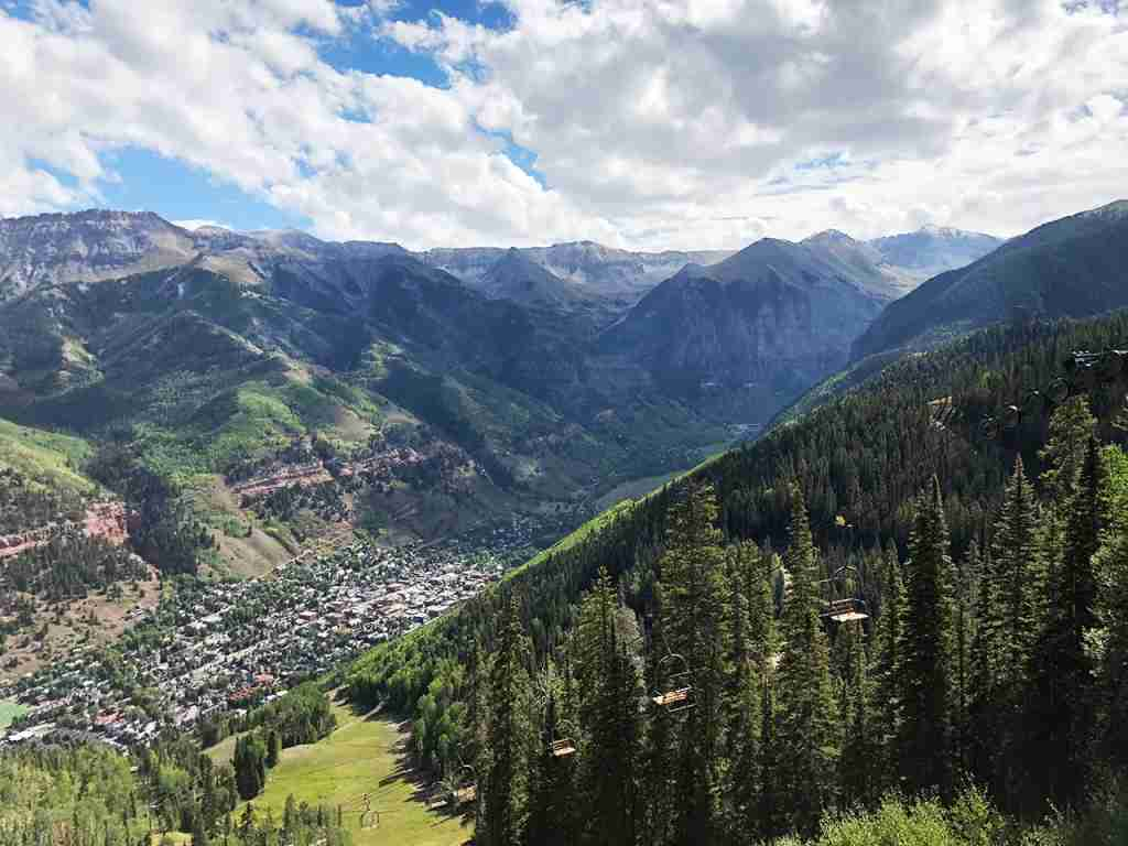 Telluride in the summer