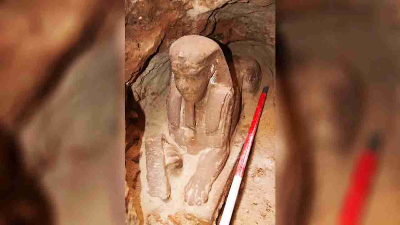 Photo courtesy of the Ministry of Antiquities via CNN