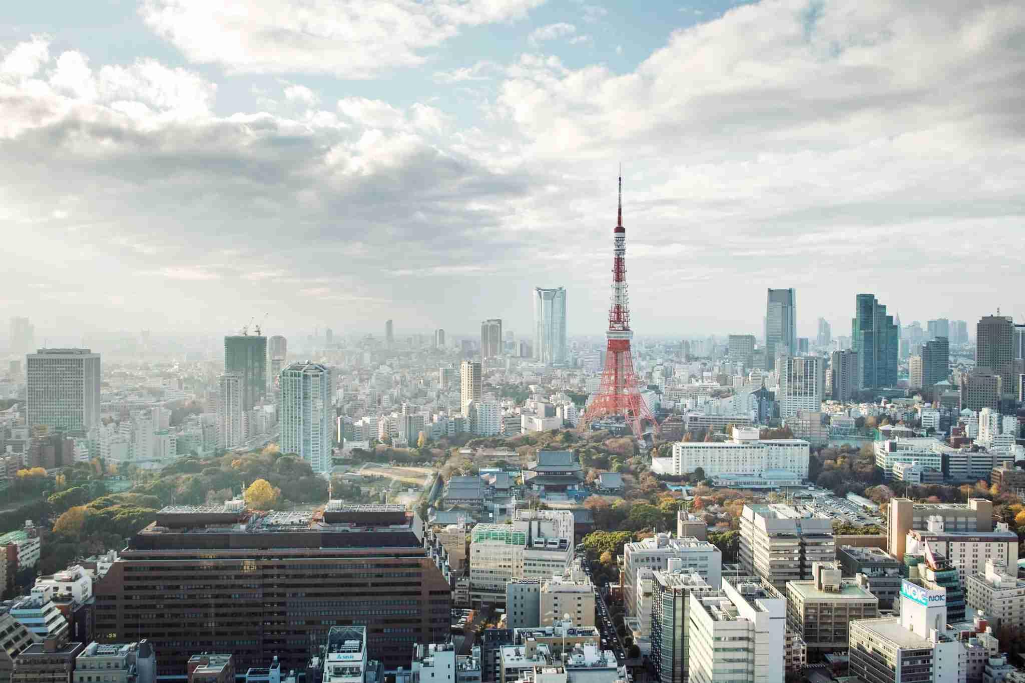 Minato ku, Tokyo, Japan, Tokyo Tower.